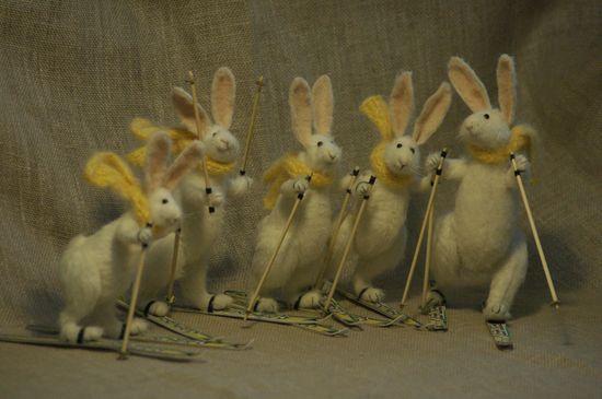 skier rabbits