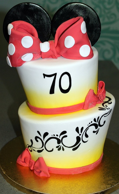 Topsy Minnie Mouse Cake