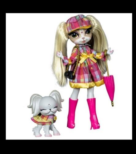 Pinkie Cooper and the Jet Set Pets In London Doll Dog Pet Travel Collection