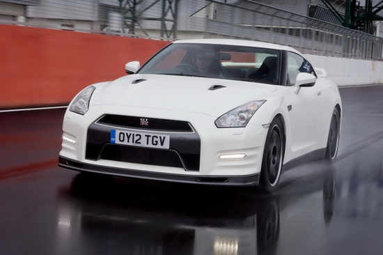 First Examples of #Nissan's Edgier #GTR Track Pack Edition Arrive in Britain -  Aimed at drivers who require a faster, lighter and harder GT-R, the new Track Pack Edition of Nissan's sports car has arrived in the UK. The new model carries a £10,000 (US$16,000) premium over the standard GT-R, which brings the on-the-road price to £84,450.