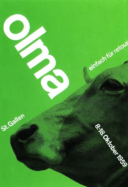 Swiss style poster... by Joseph Muller-Brockman 1959.