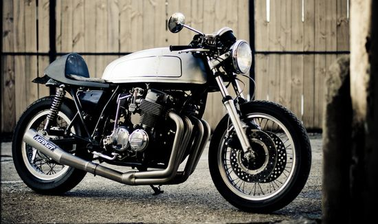 Motto Moto CB750 - great tank, beautiful Grey