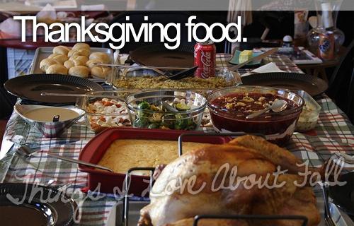 mmm... thanksgiving food