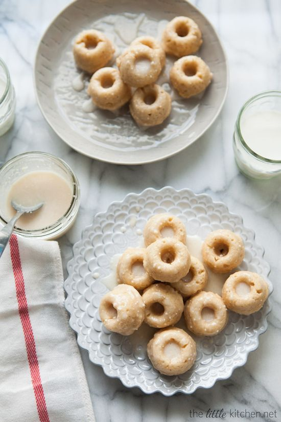 Mini Buttermilk Pumpkin Pie Spice Donuts - from @Matty Chuah Little Kitchen