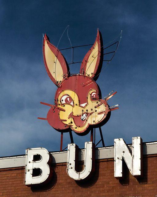 Bunny Bread, Dallas, Texas