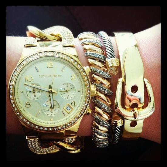 MICHAEL Michael Kors/Watch and bracelets