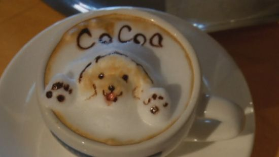 How to Make 3D Art Out of Coffee Froth