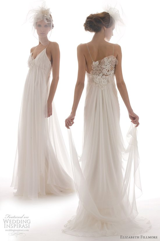 Elizabeth Fillmore Spring 2012 Wedding Dresses