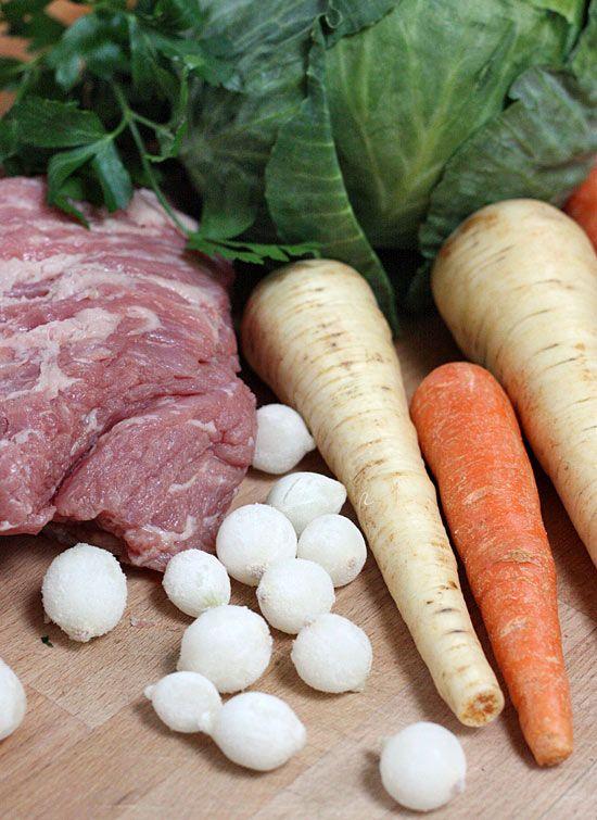 veggies & beef
