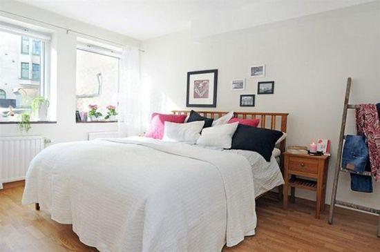 Scandinavian Style Bed Room Decor