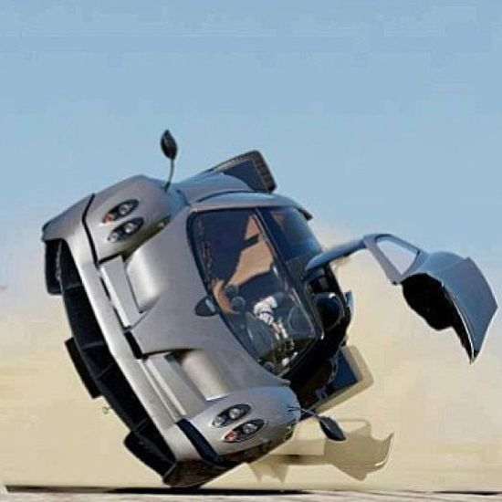 Pagani Zonda are you feeling okay? What would you be thinking if you were the driver of this...?