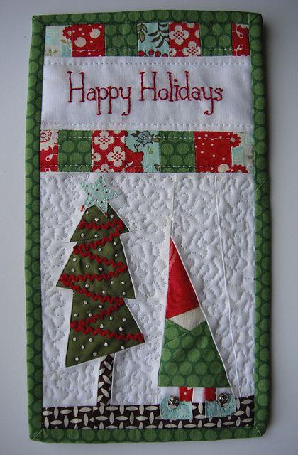Another Christmas mug rug!