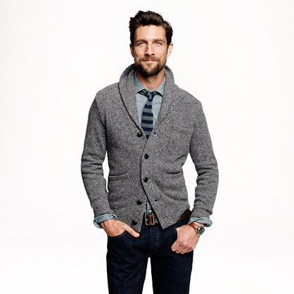 Donegal Shawl Cardigan.