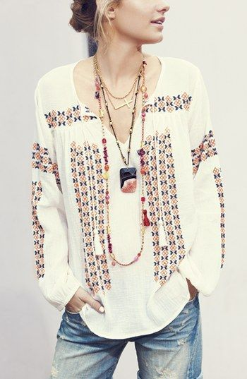 Boho #clothes summer #summer clothes style #cute summer outfits