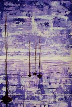 "Saatchi Online Artist Kyle Brock; Painting, ""Serenity"" #art"
