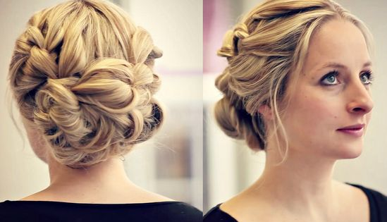 Bridesmaid Hair Tutorial - The Perfect Updo
