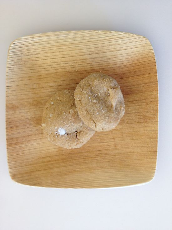 Gluten-Free Peanut Butter Cookies, Wholeliving.com #lunchbunch