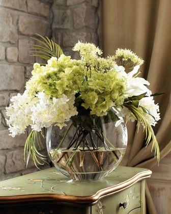 lovely floral arrangement.....