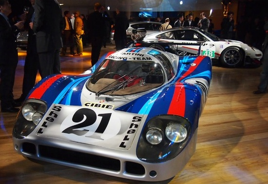 Porsche 917 is celebrating its 40th anniversary this year. It is considered the greatest racing car of all time.
