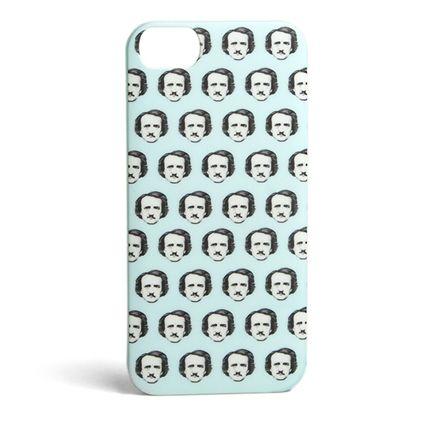 Edgar Allan Poe-ka Dots iPhone case
