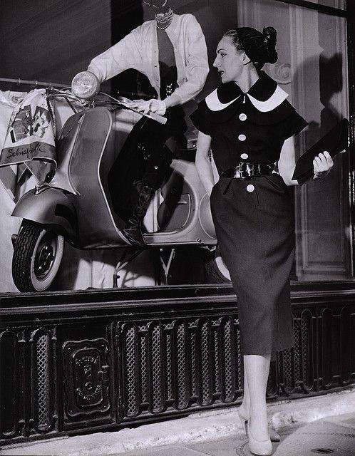 Elsa Schiaparelli Dress 50s