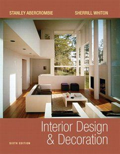 Interior Design And Decoration Book by Stanley Abercrombie