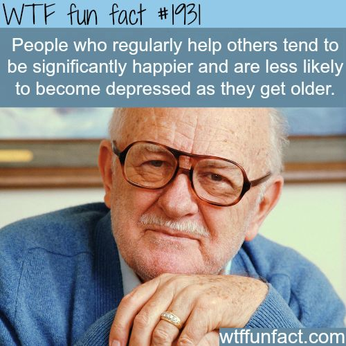 People who help others -WTF fun facts