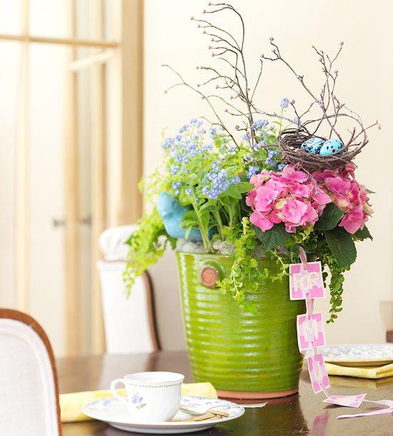 Mothers Day Garden Flower Arrangement