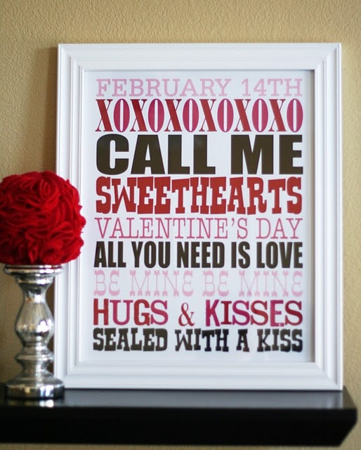 valentine's Day printable idea