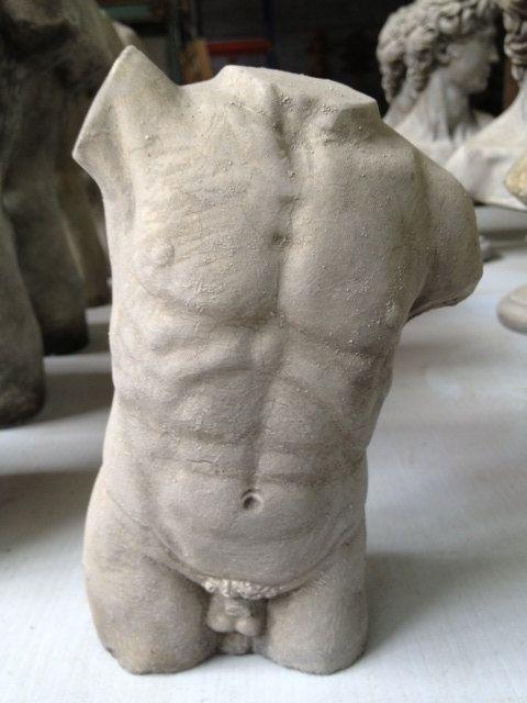 Male Torso - Garden Decor - Statue