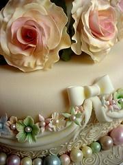 Beautiful cake details