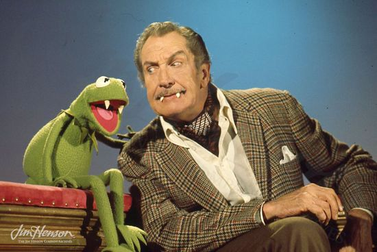Kermit the Frog & Vincent Price