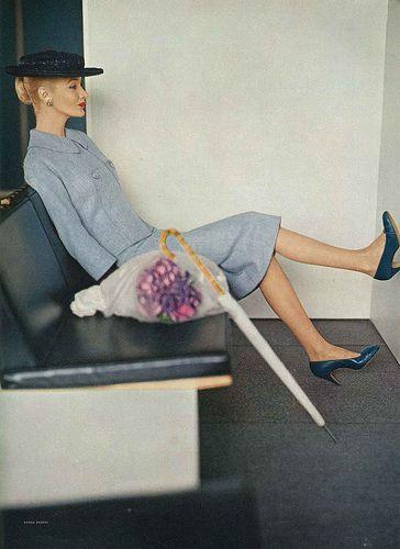 Sunny Harnett, February Vogue 1956