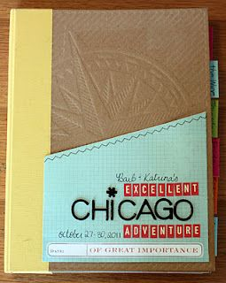 Awesome travel Smashbook-I may have to make one of these for our recent family trip to Chicago!!  :)