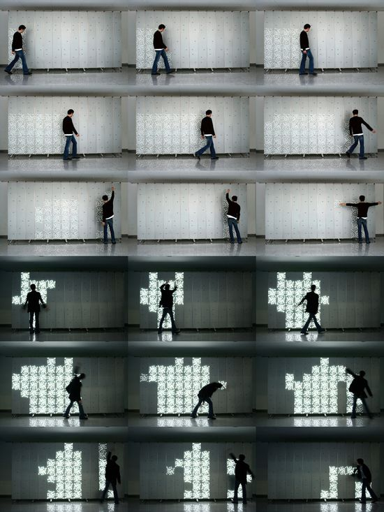 Studio Barragan. Interactive art installation