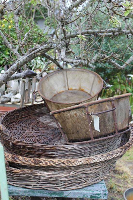 old baskets