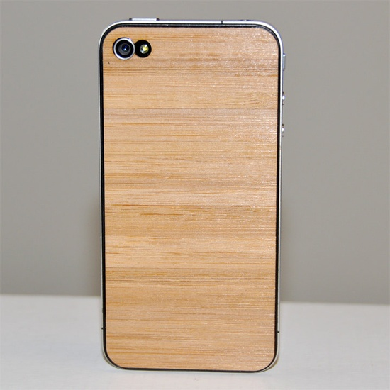 Bamboo iPhone Cover / Wooden, Wood