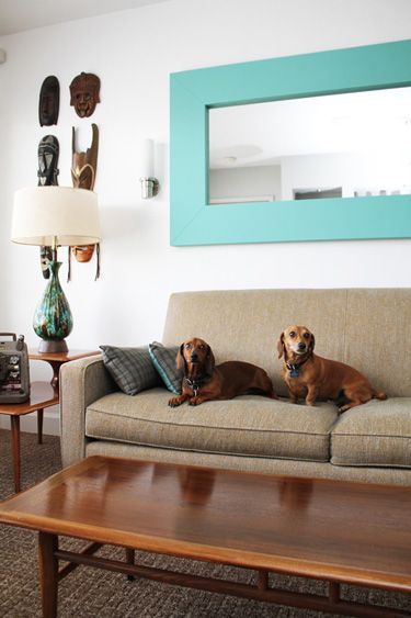 weiner dogs and great design. adorable.