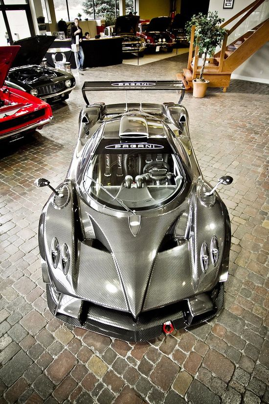 'Bow down' to the Pagani Zonda R!