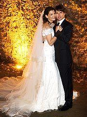 Tom Cruise and Katie Holmes #celebrity #wedding