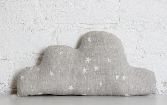 Linen Cloud Cushion. $45.00, via Etsy.