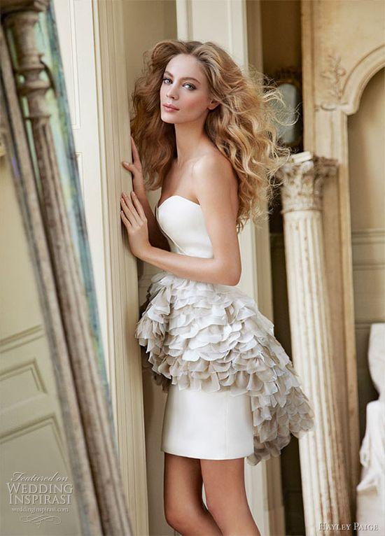 hayley paige wedding dress 2012