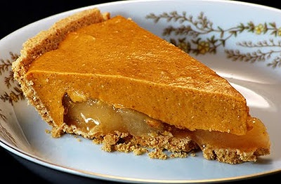 This might be the best thing ever made. Pumpkin Apple Caramel Pie.