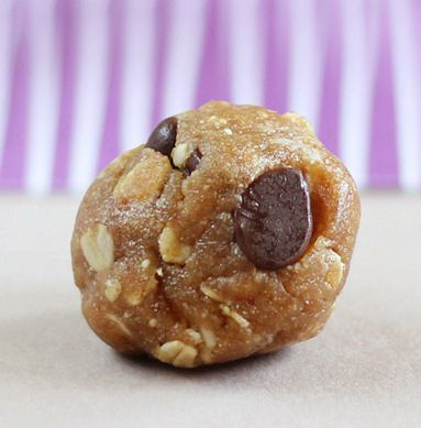 No-bake cookie dough bites you can make in minutes.