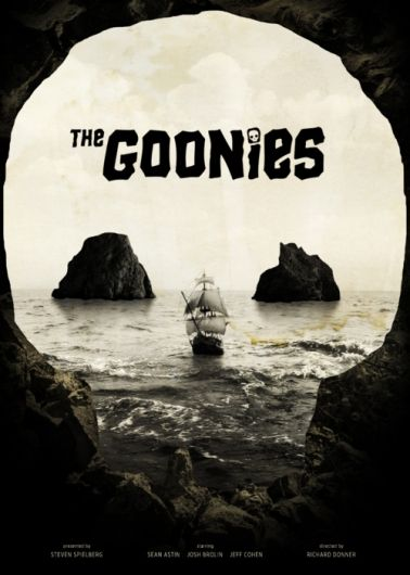 The Goonies (1985) love this poster!