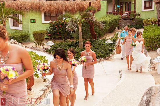 Mexico Destination Wedding at Mahekal Beach Resort