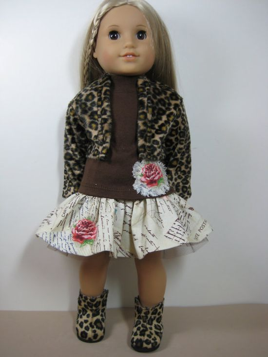 18 inch Doll Clothes American Girl French by nayasdesigns on Etsy