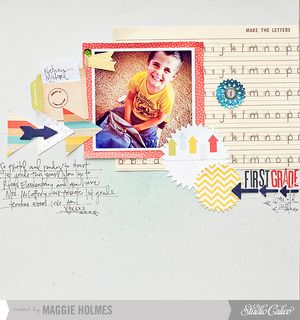 First Grade {Main Kit Only} by maggie holmes at Studio Calico