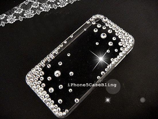 iPhone 5C case, iPhone 5 Case, iPhone 4 case, iPhone 4s case, Cute iphone 4 case, Bling iphone 4 case, iphone 5 bling case, cover iphone 5 by iPhone5CaseBling, $12.98