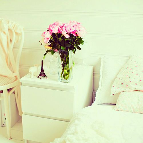 bed side table bedroom decor